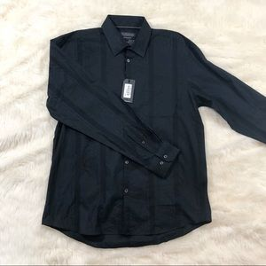 •NWT Report Collection Black Button Down Shirt•